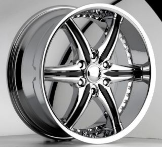 22 Chrome Rims Tires 6x135 Ford F150 Navigator Expedition