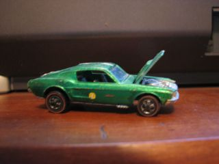 Hot Wheels Custom Mustang Red Line 1967