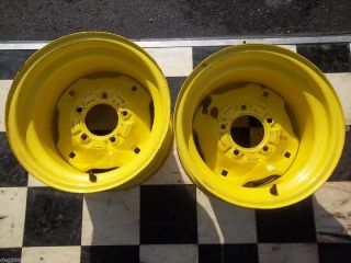 JOHN DEERE REAR WHEELS 23 X 10 50 X 12 140 300 314 316 317 318 332 330