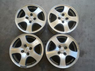Acura Integra Honda Civic Wheels Fat Fives 4x100 15 Great Condition