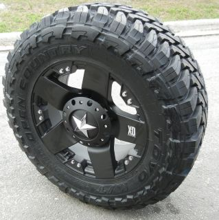XD ROCKSTAR WHEELS & TOYO OPEN COUNTRY M/T CHEVY SILVERADO FORD F 150
