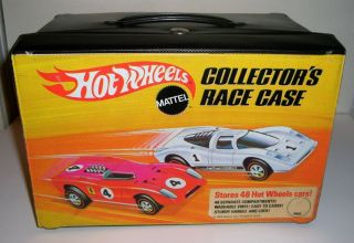 1969 Redline Hotwheels 48 Car Carrying Case