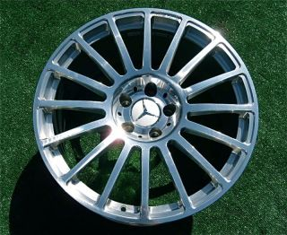 Factory Mercedes Benz AMG CLK 63 Black Series Wheels CLK63