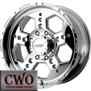 17 Chrome LM Gatlin Wheels Rims 8x165 1 8 Lug Chevy GMC Dodge 2500