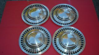 1961 Ford Galaxie Starliner Hubcaps Wheel Covers