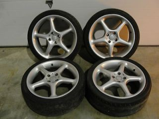 Honda Mini Miata 17 Wheels 17x7 ET38 4x100 Clean with Tires