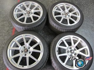 13 Cadillac CTS CTS V Coupe Factory 19 Wheels Tires Rims OEM 4647 4649