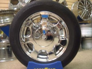 16 Cadillac DeVille 2000 to 2005 Chrome Wheels Rims