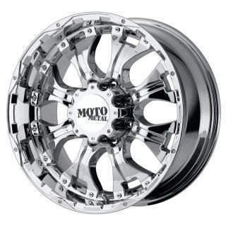 20x9 Moto Metal MO959 Chrome Wheel Rim s 8x180 8 180 20 9
