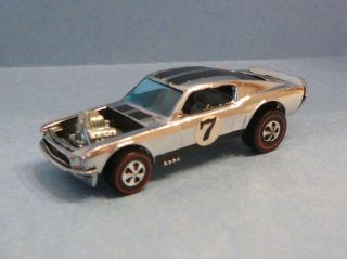 Mint Vintage 1969 Hot Wheels Redline Mustang Boss Hoss 7 Beauty