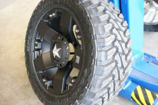 35 20 inch XD Rockstar Wheels Rims Toyo O C Mud Tires