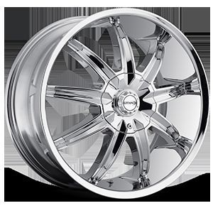 20 VCT G60 Chrome Wheel Rims Tires Fit Toyota Nissan Honda Ford Chevy