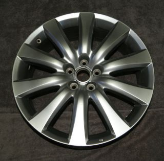 20 Mazda CX 9 Factory Alloy Wheel Rim Hypersilver