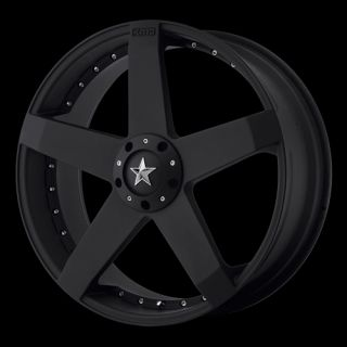 18 KMC Rockstar Car Wheel Set 18x8 FWD rwd 4 5 Lug Vehicles