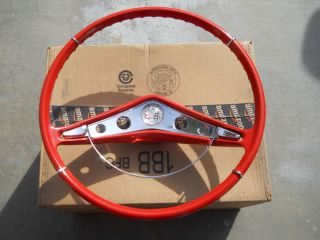 1959 1960 Chevy Impala Original Steering Wheel Restored