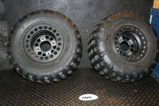 2008 Kawasaki KFX450R Rear Wheels Rims Tires KFX 450R