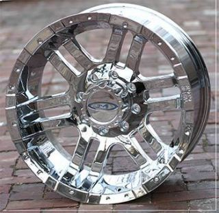 18 inch Chrome Wheels Rims Ford F250 F350 Truck 8 Lug