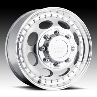 19 5 Wheels Rims Vision Heavy Hauler Machined Ford F 250 F 350 Dually
