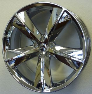 Challenger SRT8 Chrome Charger Magnum 300C Wheels Rims Set