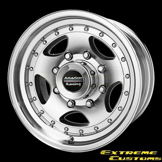 Racing AR23 Machined w Clear Coat 5 6 8 Lug Wheel Rim Free Lugs