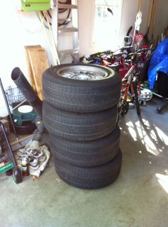 BMW Spoke Wheels and Michelin MXV4 Energy 235 60R16 Tires