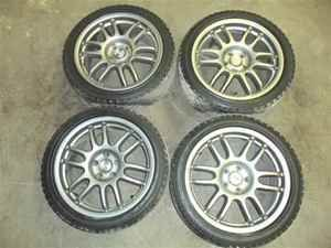 2003 Lexus SC430 18 Wheels Rims w Tires Set Speedline