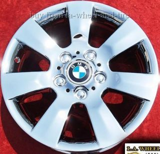 NEW 16 BMW 323I 325I 328I E46 OEM CHROME WHEELS RIMS EXCHANGE 59530
