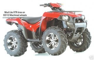 ATV Mud Tire Wheel Kit Mud Lite XTR 27 ITP SS112 Rims
