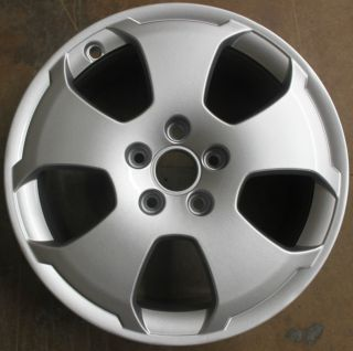 One Audi A3 17 Refurbished Alloy Wheel 5 Spoke Hole 7 5J Winter