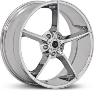 20 x8 5 Ruff Racing R948 Chrome Wheels Rims