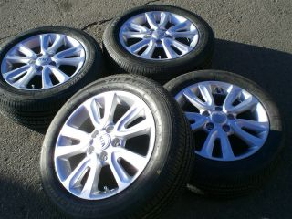 2012 KIA SOUL ALLOY WHEELS NEW BRIDGESTONE TURANZA EL400 P 205 55 R 16
