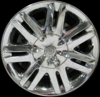 17 2008 2010 Chrysler Town Country Chrome Wheel