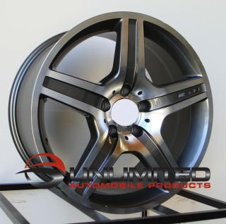 19 AMG Style Staggered Wheels Rims Fit Mercedes S320 S350 S500 S600