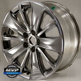 Factory OE 19 19 Ford Taurus Wheel Rim Chrome Clad 3819 100416