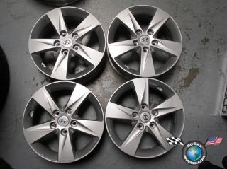 07 12 Hyundai Elantra Factory 16 Wheels Rims 70806 52910 3x250