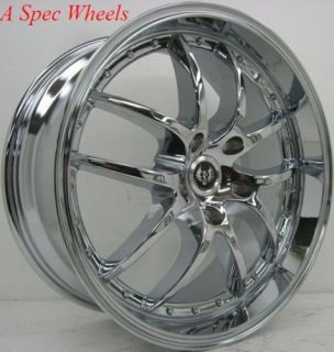 19 Staggered Chrome Wheels Rim SC430 IS250 GS300 GS400