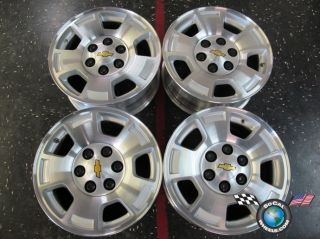 Chevy Tahoe 1500 Silverado Factory 17 Wheels OEM Rims Avalanche 5299