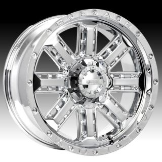 18 Wheels Rims Gear Alloy Nitro Chrome Sorento Aspen RAM Pick Up