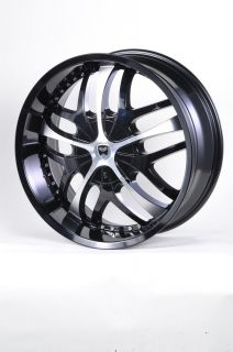 GWG G19 20 Gloss Black Wheels Rims Mitsubishi Endeavor Toyota