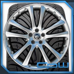 20 inch Wheel and Tire Package Rims Marcellino Senta II Silver