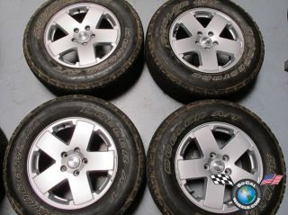 12 Jeep Wrangler Factory 18 Wheels Tires Rims 1JC34TRMAA 9076