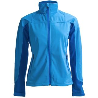 Marmot Leadville  Soft Shell Jacket   Windstopper(R) (For Women)   BLUE ICE (S )