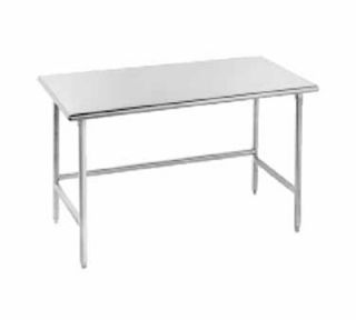 Advance Tabco 96 Work Table   30 Top, 16 ga Stainless