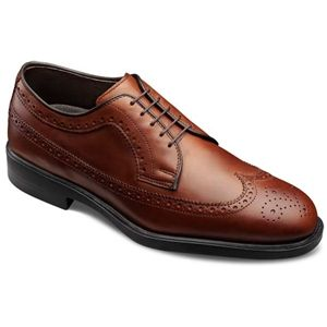 Allen Edmonds Mens Oxford Chili Leather Shoes   3144