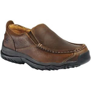 Timberland Kids Carlsbad Youth Slip On Brown Smooth Shoes   46724