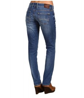 Lucky Brand Sweet N Straight 30 in Ol Sunflower Womens Jeans (Blue)
