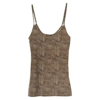 JKY By Jockey Womens Nylon Stretch Cami   Animal Print S