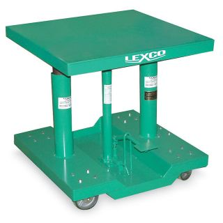 Wesco Lexco Professional Grade Lift Tables   30Wx48D Platform   30 To 48 Lift Height   Green