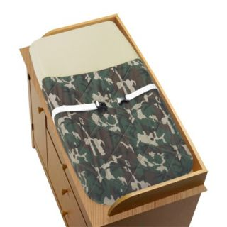 Green Camo Changing Pad Cover