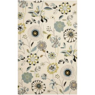 Safavieh Four Seasons Ivory / Blue Rug FRS482C